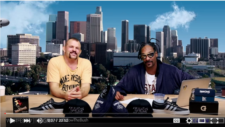 Chuck Liddell & Snoop Have A Need For Speed