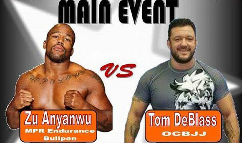 CFFC heavyweight champ Anyanwu to grapple DeBlass at UGA 2015 Fall Open