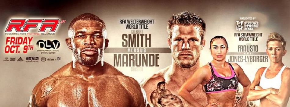 RFA 31 results:  Smith retains, breaks Marunde's jaw