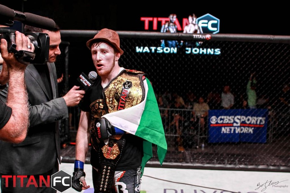 Titan FC bantamweight Brett Johns starts crowdfunder to battle injuries