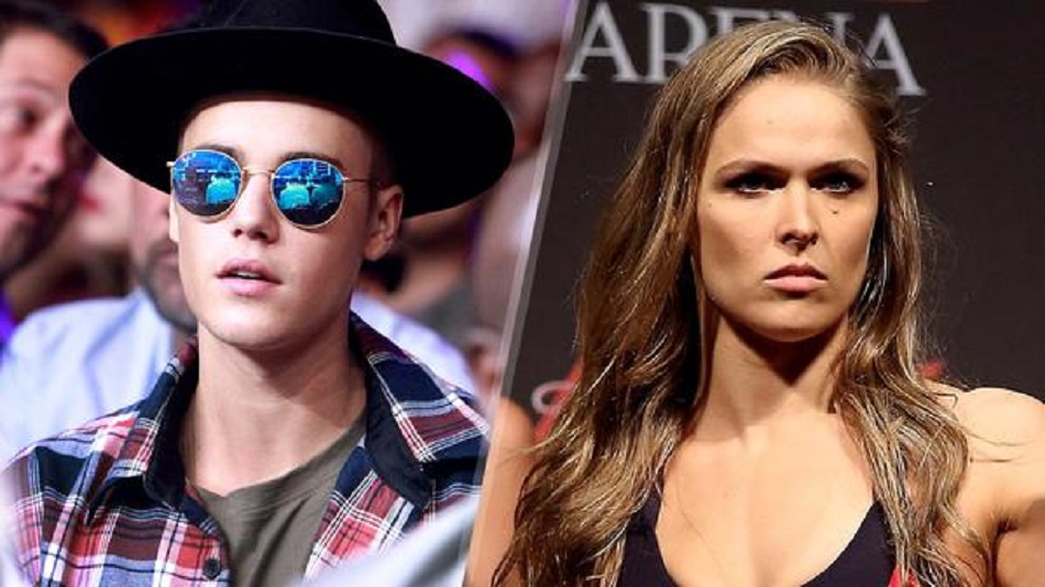 After Justin snubs Rousey's sister, UFC champ no longer a Belieber