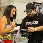Carla Esparza at the MMA Classic Fan Expo in Syracuse, New York, October 2015.