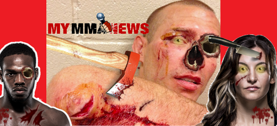 Trick or Treat – UFC Fighters Turn Into Zombies