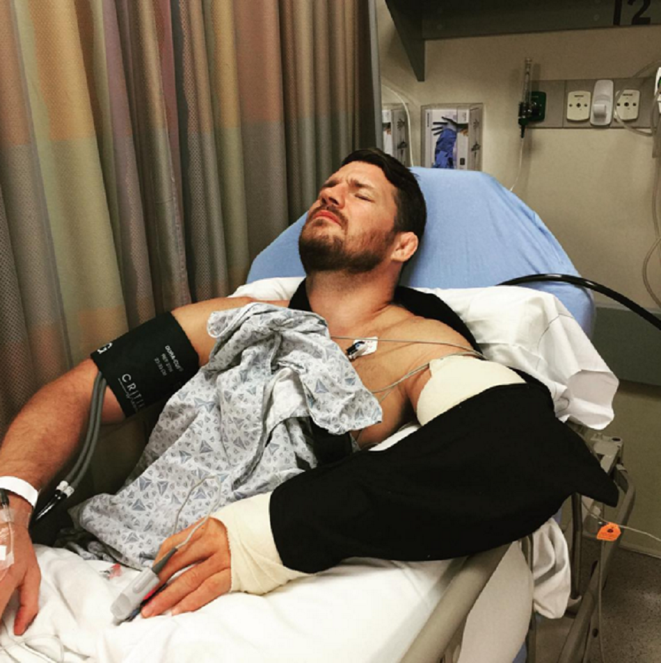 Bisping undergoes elbow surgery