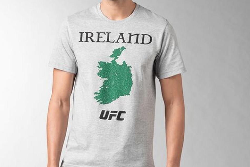 Reebok tee causes uproar in Ireland