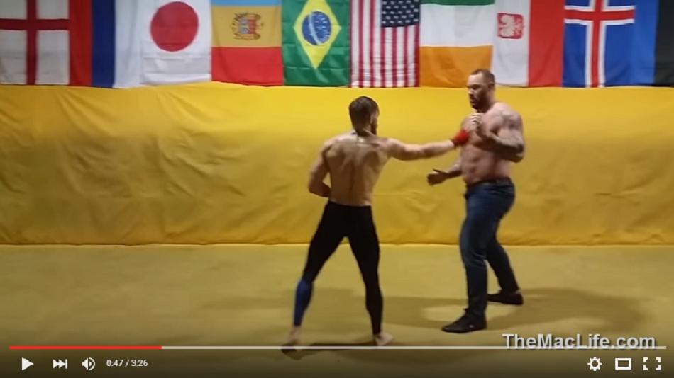 VIDEO: Conor McGregor vs The Mountain (Game of Thrones)