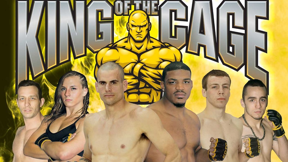 "King of the Cage Returns to Coeur D'Alene Casino Resort on November 19 for ""UNTAMED"""