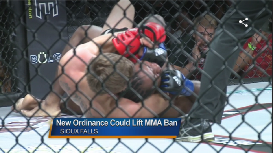 Sioux Falls City Council votes to lift ban on MMA fighting