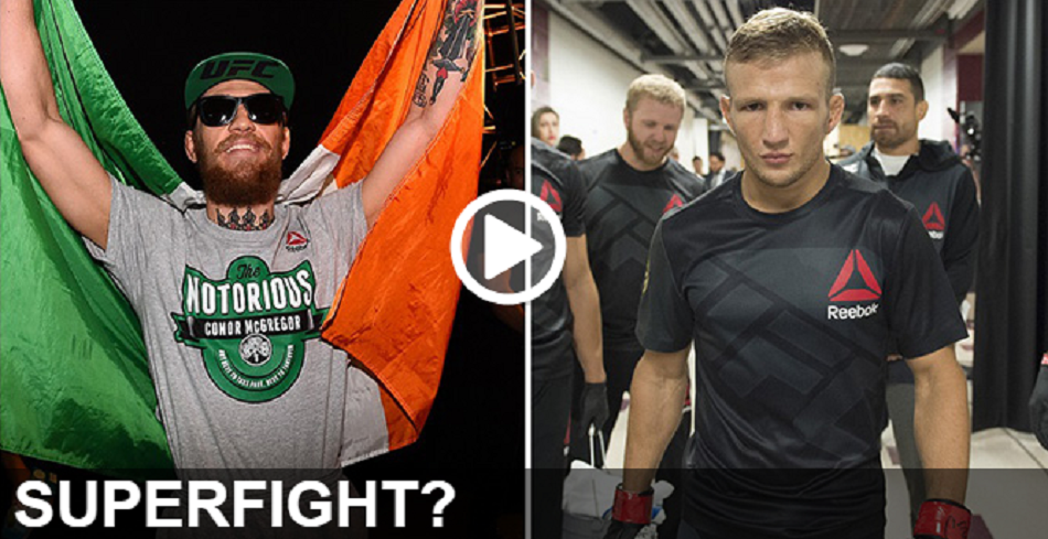 Superfight?  Video – McGregor and Dillashaw talk possibility