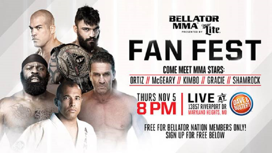 Official Bellator Fan Fest comes to St. Louis on Nov. 5