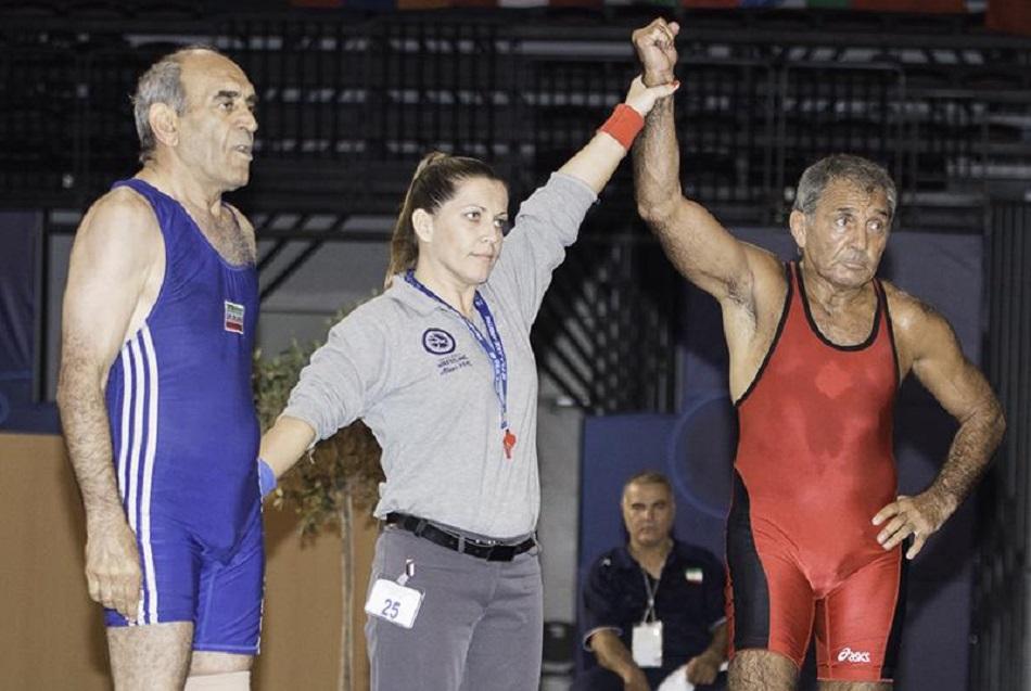 #MondayMotivation – 66 year old wrestler Shirzad Ahmadi makes history