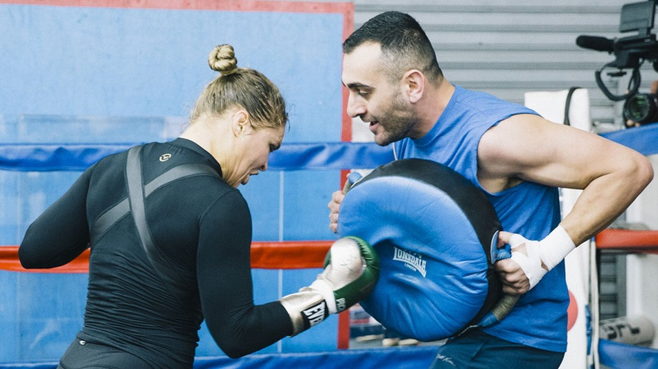 Ronda Rousey's coach claims bankruptcy