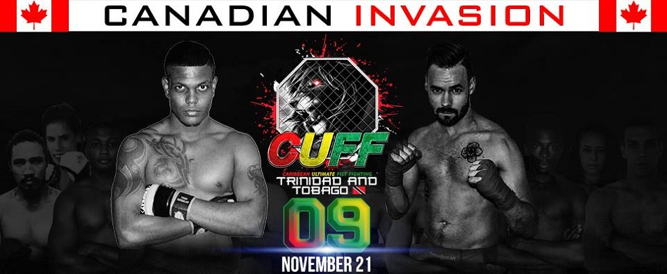 Caribbean Ultimate Fist Fighting (CUFF) 09 – Canadian Invasion