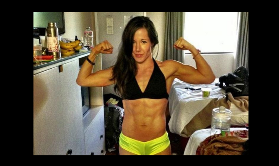 UFC strawweight Angela Magana in hospital after Twister submission