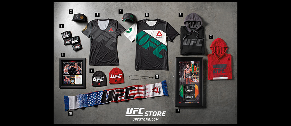 Coolest UFC gear for the holidays