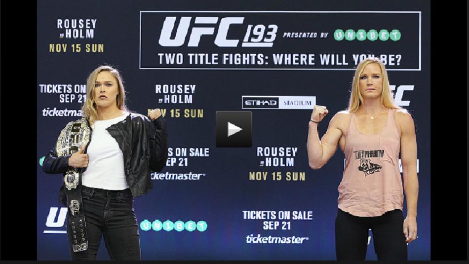 UFC 193 Embedded on FOX sneak peek