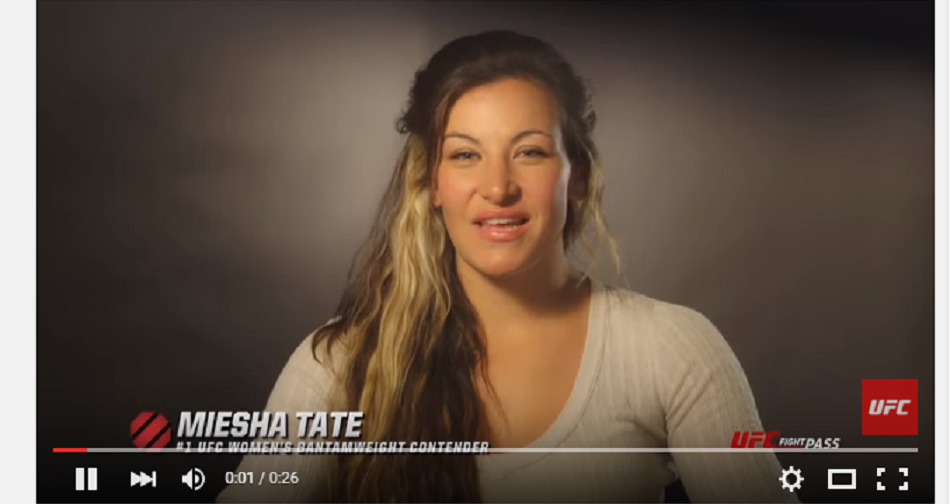 UFC FIGHT PASS is Powered by Miesha Tate