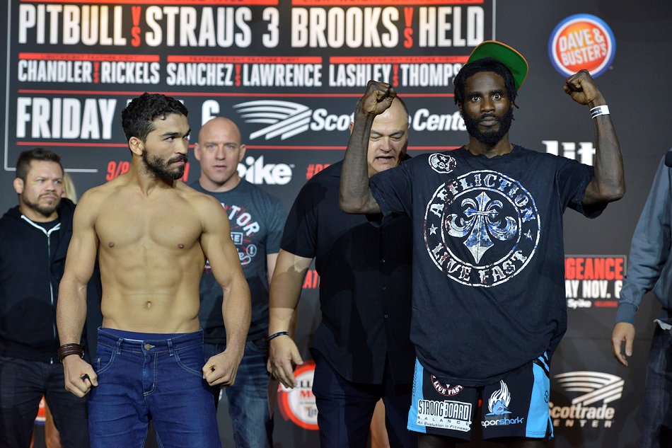 Complete 'Bellator 145: With A Vengeance' Weigh-In Results