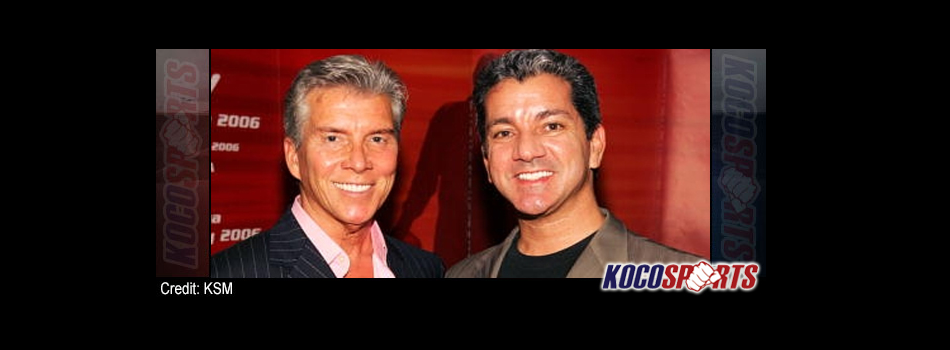 Bruce & Michael Buffer making history together