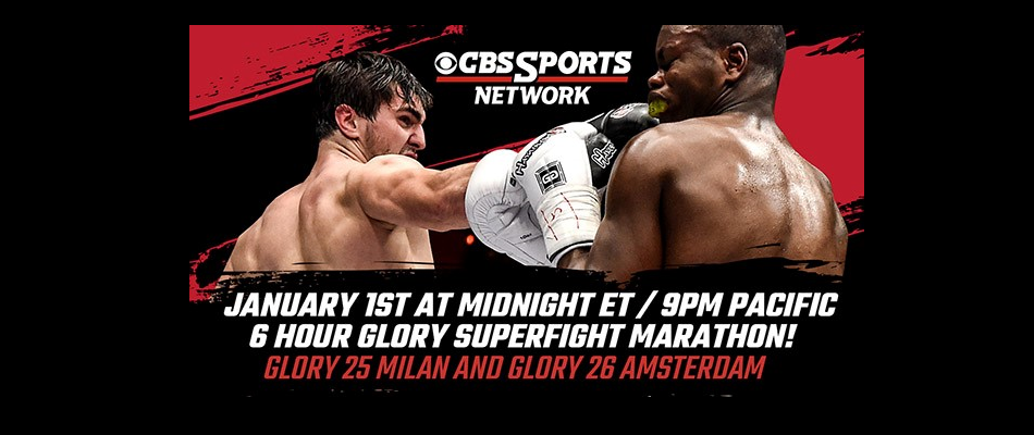 CBS Sports Network to Air GLORY SuperFight Series Marathon on New Year's Day