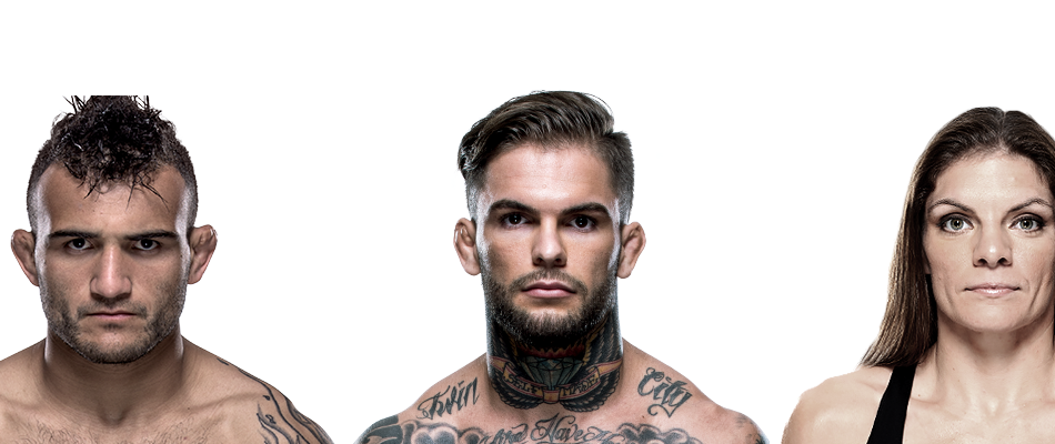 Garbrandt-Lineker, Murphy-Moras, added to UFC Pittsburgh