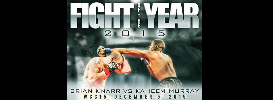 Relive One of The Greatest Amateur Fights in WCC History – Fight of the Year 2015