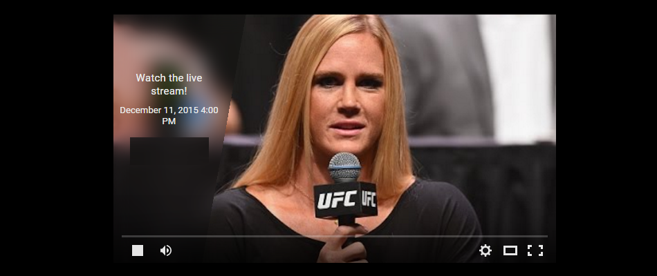 Watch UFC 194: Q&A with Holly Holm