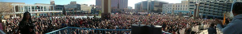 Holly Holm Parade Speech - Governor Declares Dec. 6'Holly Holm Day'