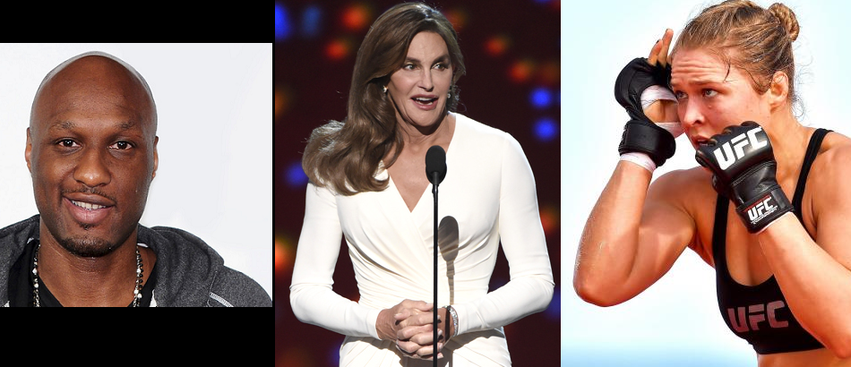 Most Googled Names of 2015:  LaMar Odom, Caitlyn Jenner, & Ronda Rousey