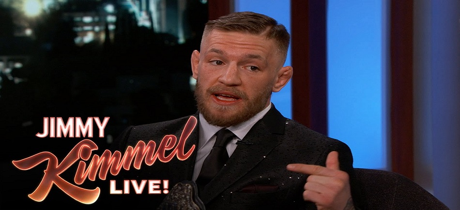 Watch:  Conor McGregor's Appearance on Jimmy Kimmel Live!