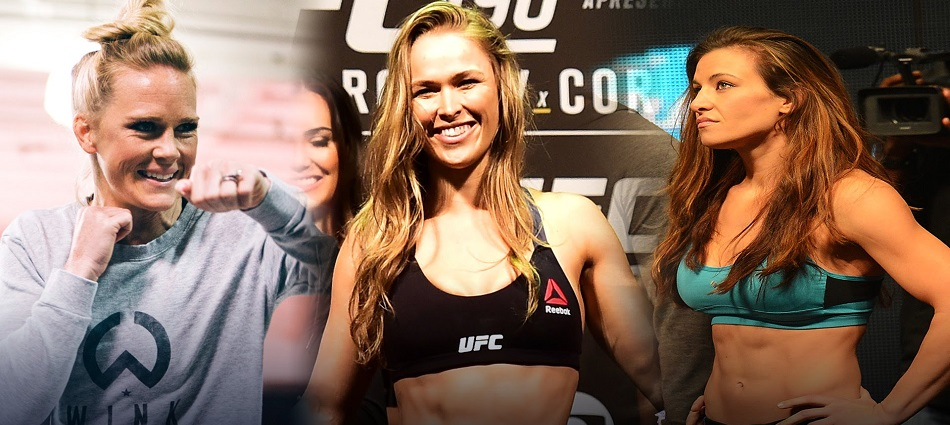 Ronda Rousey to get immediate Holly Holm rematch; Miesha Tate screwed?