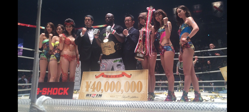 Bellator MMA Stars 'Rize' to the Occasion During Rizin Fighting Federation's New Year's Eve Show