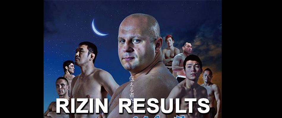 Rizin Fighting Federation Results – Day 2 – Fedor vs Singh