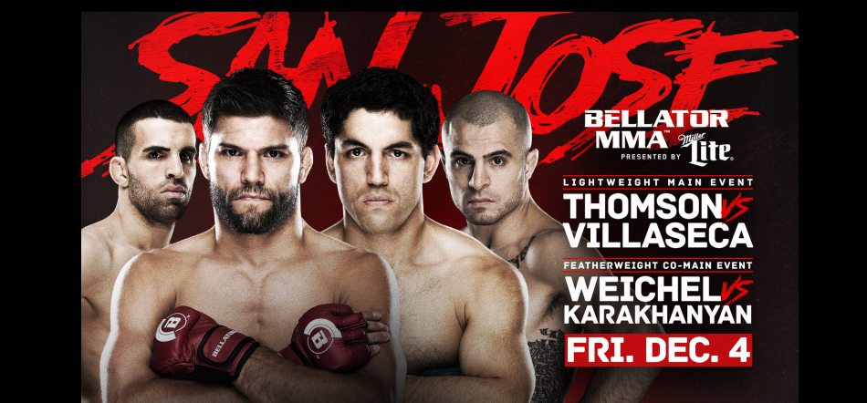Bellator 147 : Thomson vs Villaseca Results
