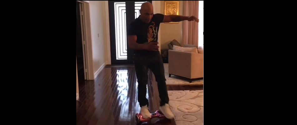 Mike Tyson hoverboard