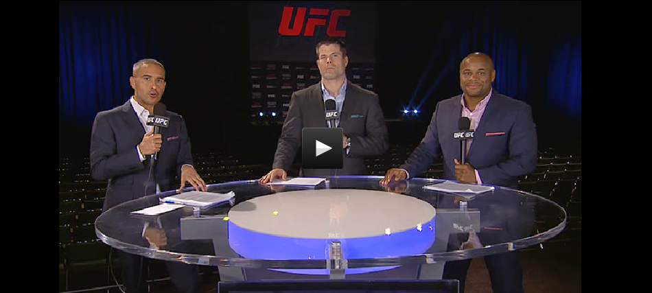 It All Starts Here: UFC 2016 Preview Show