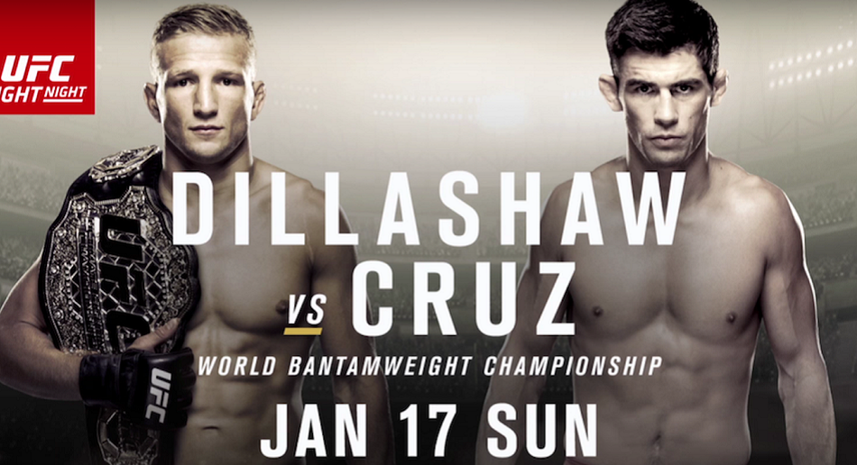 How to Watch UFC Fight Night Boston:  Dillashaw vs Cruz