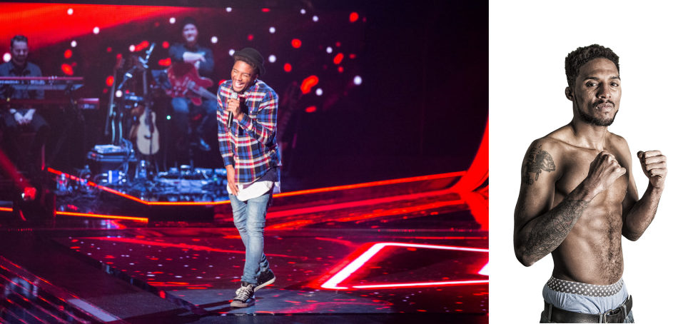 MMA Fighter, Chase Morton, appears on reality singing show, The Voice UK, tonight