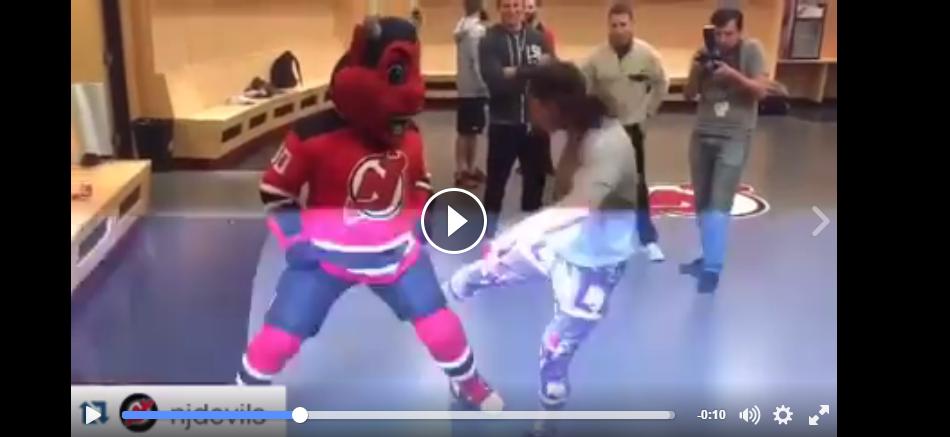 Jessica Eye kicks New Jersey Devil