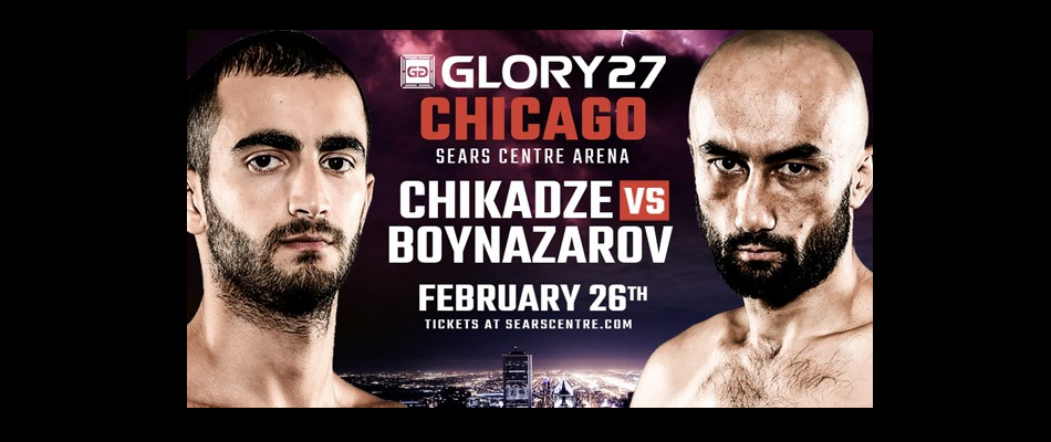 Featherweight rematch set for GLORY 27 co-headline in Chicago