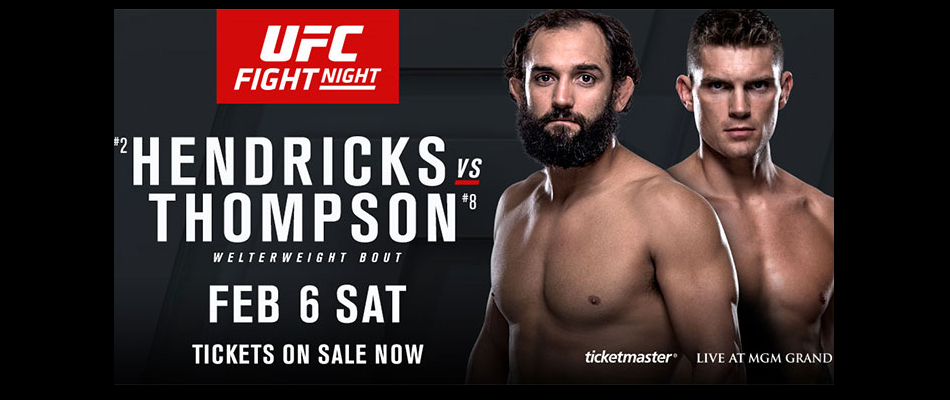 Hendricks vs Thompson now headlines UFC Fight Night on FS1