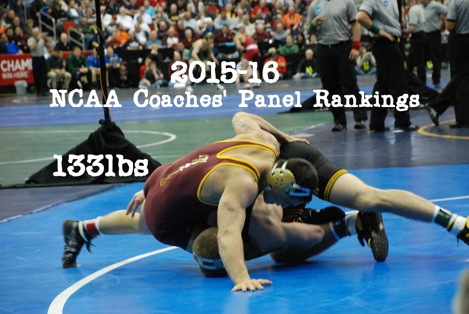 NCAA Wrestling: Coaches' Panel Wrestling Rankings Released – 133lbs Weight Class