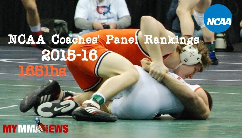 NCAA Wrestling: Coaches' Panel Wrestling Rankings Released – 165lbs Weight Class