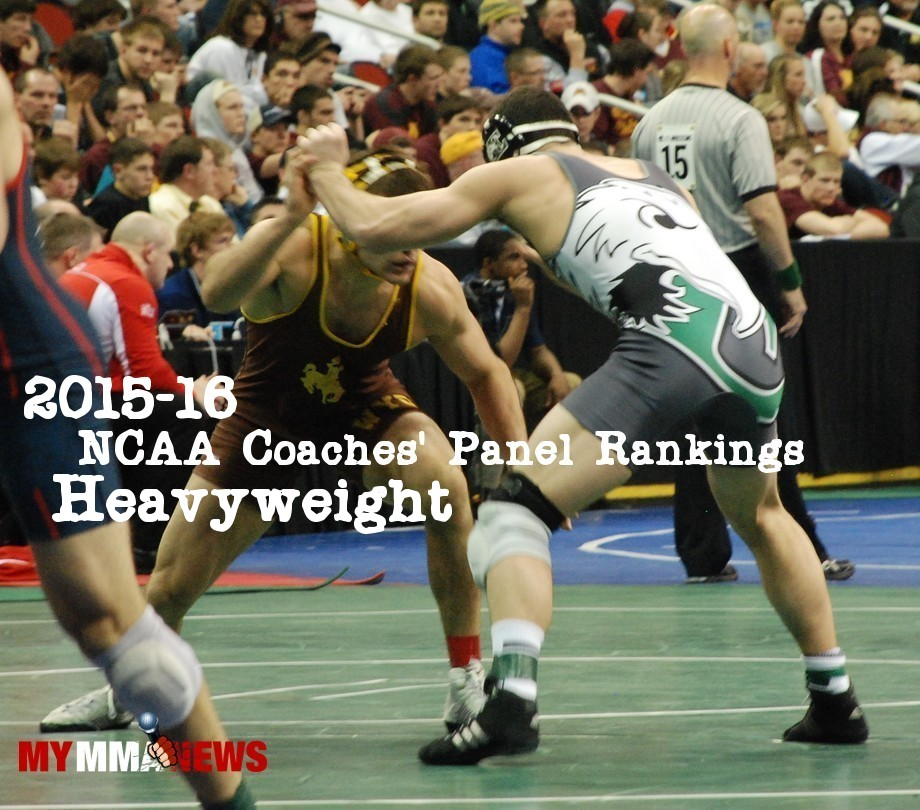 NCAA Wrestling: Coaches' Panel Wrestling Rankings Released – 285lbs Weight Class