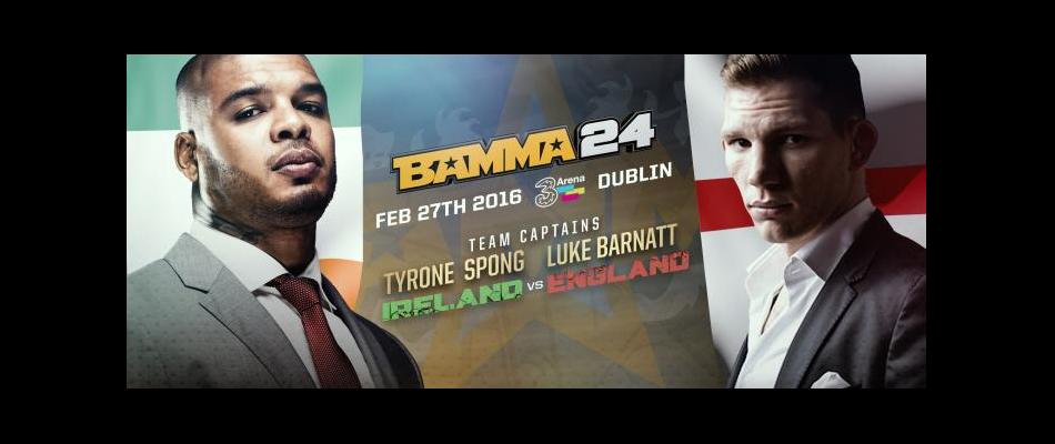 Tyrone Spong & Luke Barnatt join BAMMA 24