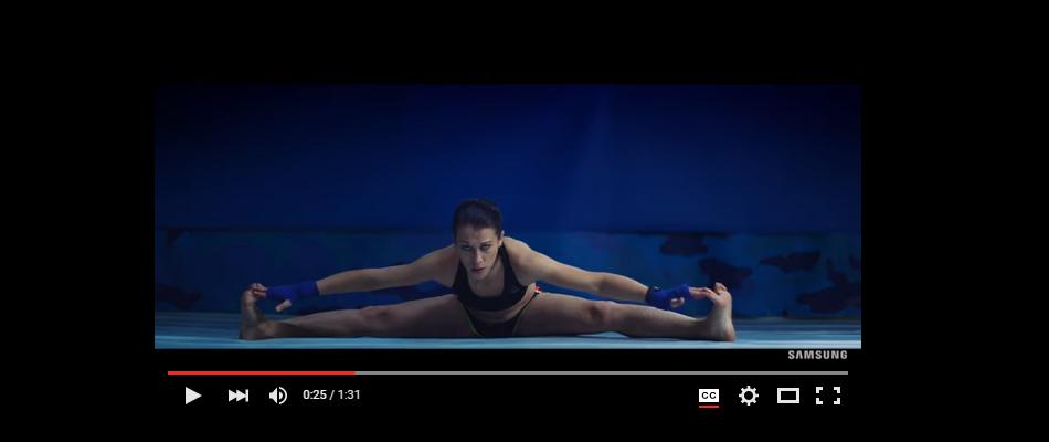 VIDEO:  New Joanna Jedrzejczyk – Samsung commercial