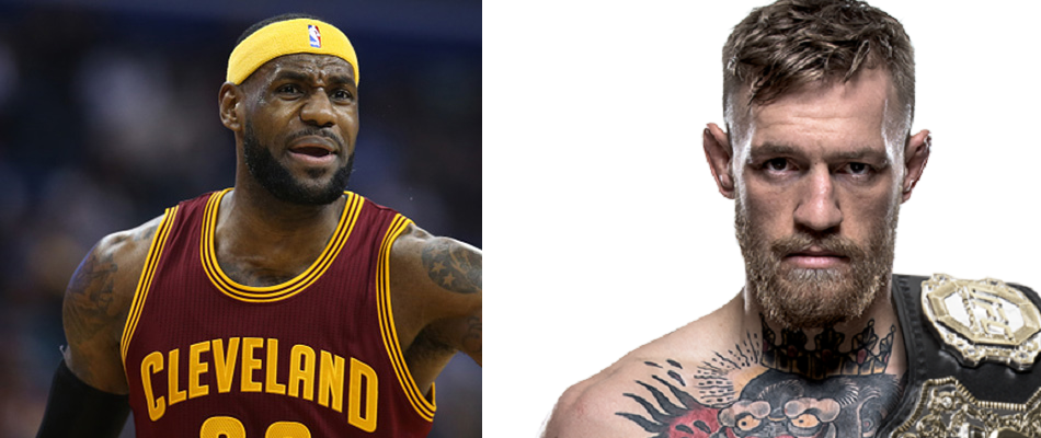 NBA star LeBron James turns to Conor McGregor for inspiration
