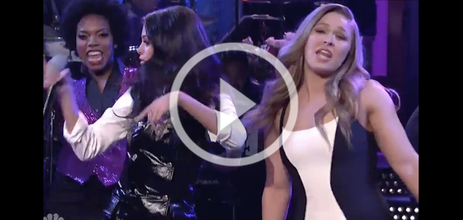 VIDEO – Ronda Rousey skits from Saturday Night Live