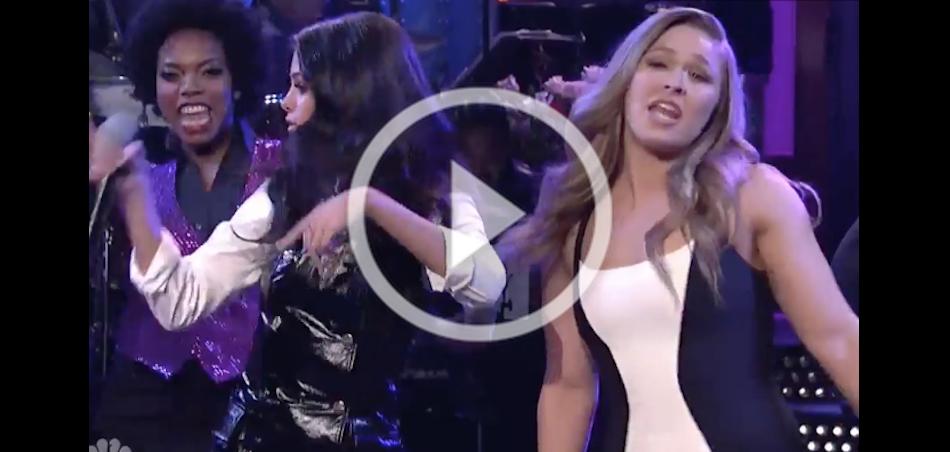 Ronda Rousey Saturday Night Live