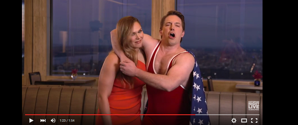 Ronda Rousey Explains Difference Between WWE and MMA In New SNL Promo